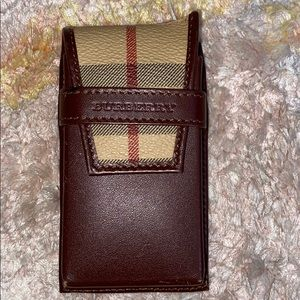 Almost new Burberry Small Cell Phone Case